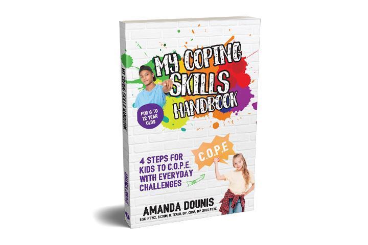 contribution to kids wellness - my coping skills handbook