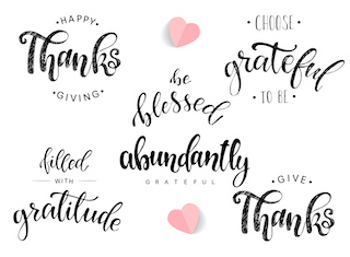 The simple side of gratitude
